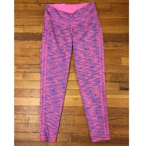 Lilly Pulitzer Pink and Purple Leggings Size M